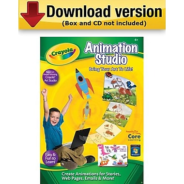 Crayola Animation Studio for Windows (1-User) [Download]