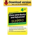 Excel 2010 Basics & Advanced For Dummies - 30 Day Access for Windows (1-User) [Download]