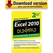 Excel 2010 For Dummies - 30 Day Access for Windows (1-User) [Download]