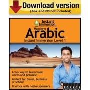 Instant Immersion Level 1- Arabic Modern for Windows (1-User) [Download]