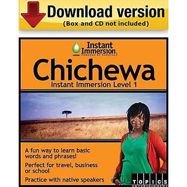 Instant Immersion Level 1- Chichewa for Windows (1-User) [Download]