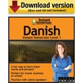 Instant Immersion Level 1- Danish for Windows (1-User) [Download]