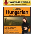 Instant Immersion Level 1- Hungarian for Windows (1-User) [Download]