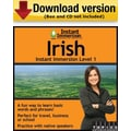 Instant Immersion Level 1- Irish for Windows (1-User) [Download]