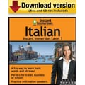 Instant Immersion Level 1- Italian for Windows (1-User) [Download]