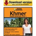 Instant Immersion Level 1- Khmer for Windows (1-User) [Download]