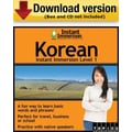 Instant Immersion Level 1- Korean for Windows (1-User) [Download]