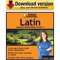 Instant Immersion Level 1- Latin for Windows (1-User) [Download]