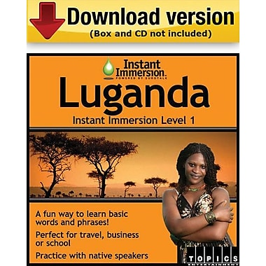 Instant Immersion Level 1- Luganda for Windows (1-User) [Download]