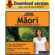 Instant Immersion Level 1- Masrii for Windows (1-User) [Download]