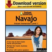 Instant Immersion Level 1- Navajo for Windows (1-User) [Download]