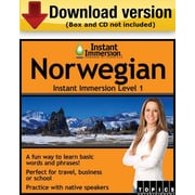Instant Immersion Level 1- Norwegian for Windows (1-User) [Download]