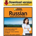 Instant Immersion Level 1- Russian for Windows (1-User) [Download]