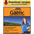 Instant Immersion Level 1- Scottish Gaelic for Windows (1-User) [Download]