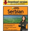 Instant Immersion Level 1- Serbian for Windows (1-User) [Download]