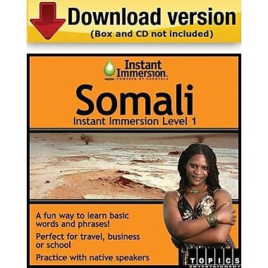 Instant Immersion Level 1- Somali for Windows (1-User) [Download]