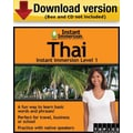 Instant Immersion Level 1- Thai for Windows (1-User) [Download]
