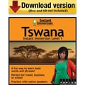 Instant Immersion Level 1- Tswana for Windows (1-User) [Download]