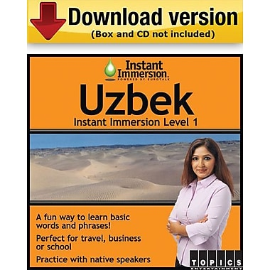 Instant Immersion Level 1- Uzbek for Windows (1-User) [Download]