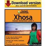 Instant Immersion Level 1- Xhosa for Windows (1-User) [Download]