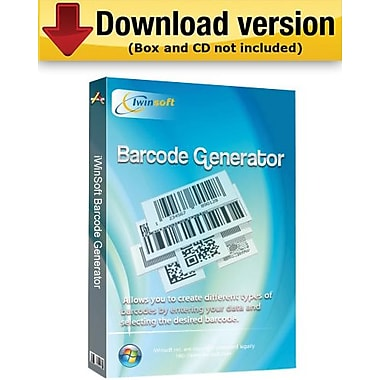 iWinSoft Barcode Generator for Windows (1-User) [Download]