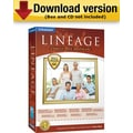Lineage Family Tree Software for Windows (1-User) [Download]