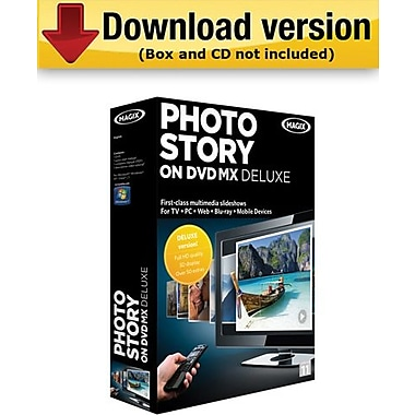 MAGIX PhotoStory on DVD MX Deluxe for Windows (1-User) [Download]