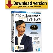 Mavis Beacon Teaches Typing Deluxe-25th Anniversary Edition for Windows (1-User) [Download]