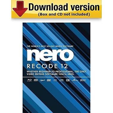 Nero Recode 12 for Windows (1 - User) [Download]