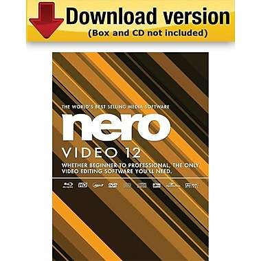 Nero Video 12 for Windows (1 - User) [Download]