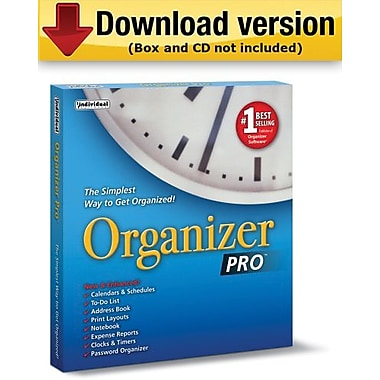 Organizer Pro 8 for Windows (1-User) [Download]