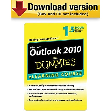 Outlook 2010 For Dummies for Windows (1-User)