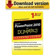 PowerPoint 2010 For Dummies - 30 Day Access for Windows (1-User) [Download]