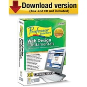 Professor Teaches Web Design Fundamentals for Windows (1-User) [Download]