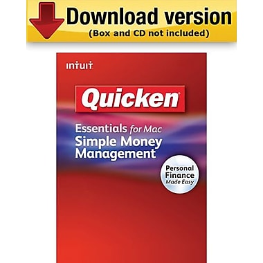 Quicken Essentials for Mac (1-User) [Download]
