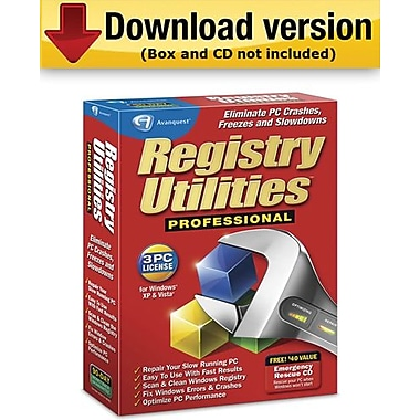 Registry Utilities Professional for Windows (1-3 User) [Download]