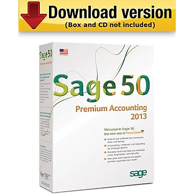 Sage 50 Premium Accounting 2013 for Windows (1-User) [Download]