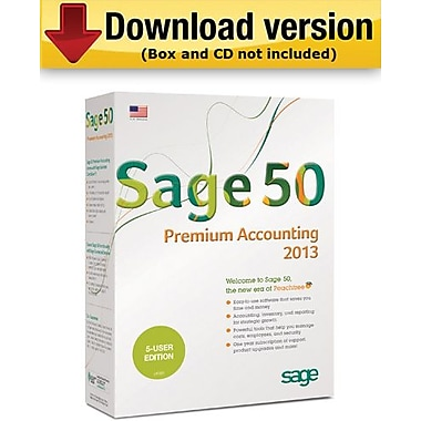 Sage50 Premium Accounting 2013 for Windows (1-3 User) [Download]