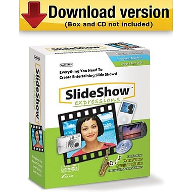 SlideShow Expressions for Windows (1-User) [Download]