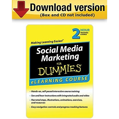 Social Media Marketing For Dummies for Windows (1-User)