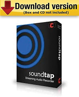 SoundTap Streaming Audio Recorder for Windows (1-User) [Download] 955178