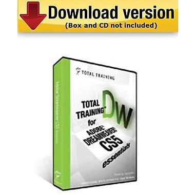 Total Training for Adobe Dreamweaver CS5 : Essentials pour Windows (1 utilisateur) [Téléchargement]