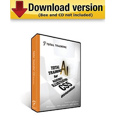 Total Training for Adobe Illustrator CS5:Essentials for Windows (1-User) [Download]