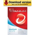 Trend Micro Titanium Maximum Security 2013 for Windows (1-3 User) [Download]