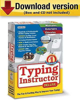 Typing Instructor Deluxe 17. 3 for Windows 1 User [Download]
