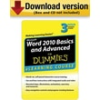 Word 2010 Basics & Advanced For Dummies - 30 Day Access for Windows (1-User) [Download]