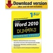 Word 2010 For Dummies - 6 Month Access for Windows (1-User) [Download]