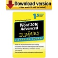 Word 2010 For Dummies Advanced for Windows