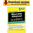 Word 2010 For Dummies Advanced - 6 Month Access for Windows (1-User) [Download]