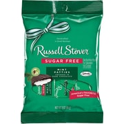 Russell Stover® Mint Patties, Sugar-Free, 3 oz., 12 Bags/Box
